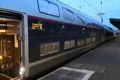 TGV im Bahnhof Hendaye